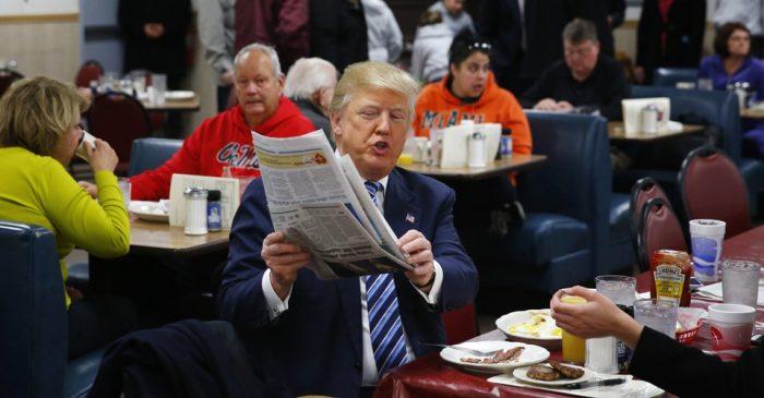Donald Trump anunció los ganadores de los polémicos