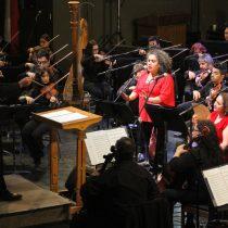 Concierto gratuito Violeta Parra Sinfónico en Universidad de Concepción