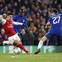 [VIDEO] Alexis Sánchez no puede hacer nada para salvar al Arsenal en un opaco partido ante el Chelsea