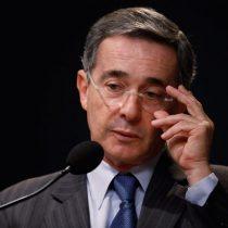 Uribe entra al Supremo de Colombia para indagatoria en su caso más complicado