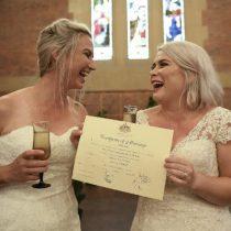 Australia celebra los primeros matrimonios homosexuales tras su legalización