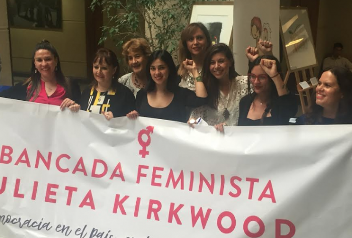 Diputadas crean la nueva Bancada Feminista Julieta Kirkwood