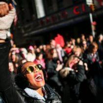 «Nosotras somos la resistencia»: las imágenes de las Marchas de las Mujeres en Estados Unidos a favor de la igualdad y en protesta por el primer año de gobierno de Trump