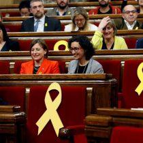 Parlamento catalán se constituye hoy con mayoría independentista