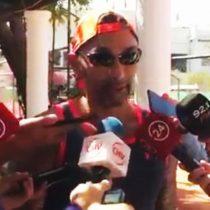 [VIDEO] Chino Rios vs los periodistas, round 2: el grosero insulto