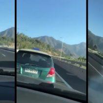 [VIDEO] Indignación en redes sociales por jóvenes que chocan a propósito a otro auto por diversión