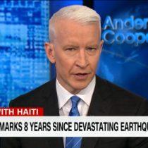 [VIDEO] La emotiva defensa al pueblo de Haití por uno de los principales presentadores de CNN luego que Trump se refiriera a este país y otras naciones africanas como