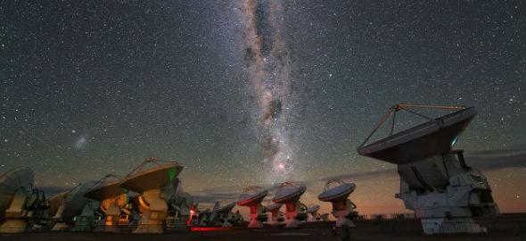 Curso de radioastronomía para público general en Observatorio Astronómico Nacional
