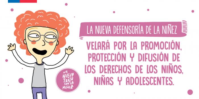 Bachelet promulga ley que crea Defensoría de los Derechos de la Niñez