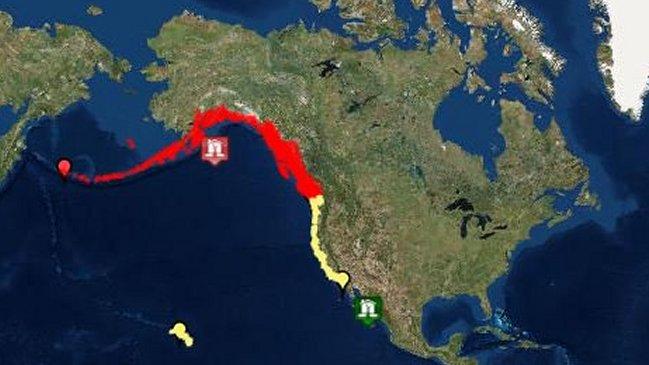 SHOA descarta tsunami para las costas de Chile tras terremoto en Alaska