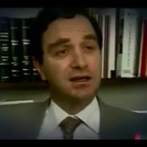 [VIDEO] Tu pasado te condena: el día en que el futuro ministro de Justicia y DD.HH Hernán Larraín calificó de