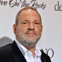 [VIDEO] Agreden a Harvey Weinstein en un restaurante: «Eres una mierda por lo que hiciste a esas mujeres»
