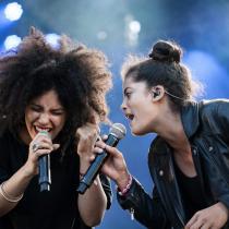 Ibeyi en Chile, las gemelas franco-cubanas que fusionan yoruba con música contemporánea