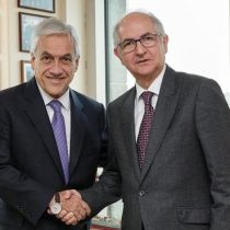 Ledezma pide en Chile a Piñera ayuda para