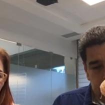 [VIDEO] No salió como quería: primera transmisión de Nicolás Maduro por Facebook se llena de comentarios negativos