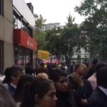 [VIDEO] Trabajadores en huelga de Nueva Masvida funan lanzamiento de la nueva Comisión de Mercados Financieros