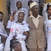 [VIDEO] Hombre se casa con tres mujeres el mismo día para ahorrar en la boda