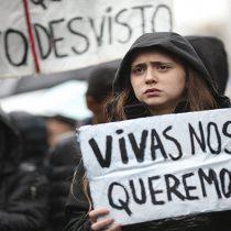 """Vocera Ni Una Menos Chile: """"Hay un fracaso de la institucionalidad respecto de las cifras de violencia contra la mujer"""""""