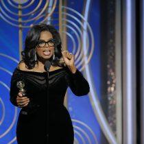 """[VIDEO] Oprah Winfrey dedica premio honorífico a las mujeres víctimas de abuso: """"Se acabó el tiempo"""""""