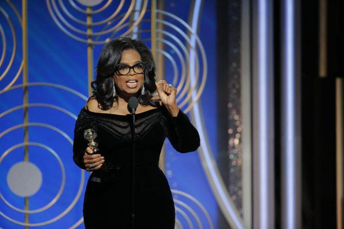 [VIDEO] Oprah Winfrey dedica premio honorífico a las mujeres víctimas de abuso: «Se acabó el tiempo»