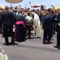 [VIDEO] Papa al rescate: socorre a carabinera que cayó desde un caballo en Iquique