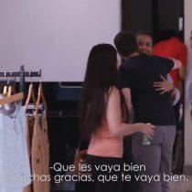 [VIDEO] Perry Ellis apoya a trabajadora que fue ofendida por clienta con emotivo saludo