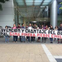 Protestan en frontis del Banco Mundial: