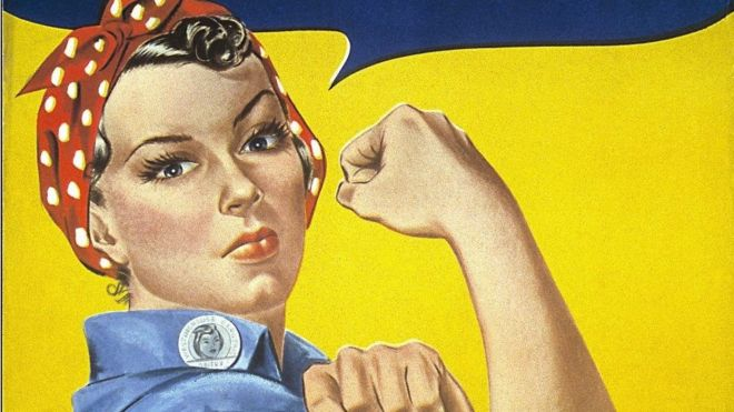 Quién era realmente «Rosie, la remachadora», la mujer del icónico cartel que se convirtió en un símbolo de la fortaleza femenina en Estados Unidos