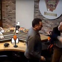 [VIDEO] Periodistas rusos se van a las manos tras encendido debate sobre Stalin