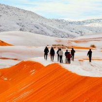 Nieve en el Sahara: ¿Quién dijo que no existe el cambio climático?