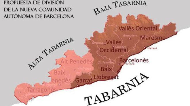 Qué es Tabarnia, la región imaginaria que