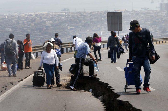 A Chile se le mueve bastante el piso: tuvo 8.094 temblores en 2017