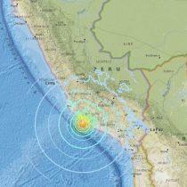 [VIDEO] Al menos 2 muertos y 65 heridos por terremoto de magnitud 6,8 en sur de Perú
