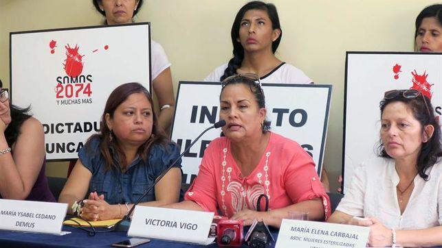 Víctimas de esterilizaciones forzadas pedirán a CIDH se juzgue a Fujimori