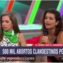 La aplaudida respuesta de una joven argentina que se realizó un aborto a hombre que la cuestionaba