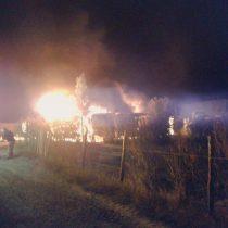 [VIDEO] Al menos 23 camiones son quemados en las regiones del Bío Bío y La Araucanía