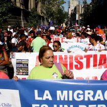 Inmigrantes marchan contra abuso laboral y discriminación
