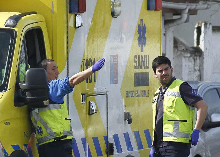 Ambulancias del SAMU viajaron hasta Mendoza para traer de regreso a víctimas de accidente de tránsito