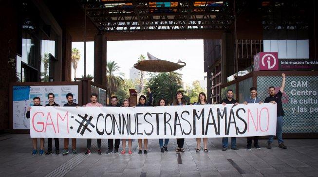 Trabajadores del GAM se movilizaron por precarización de derechos