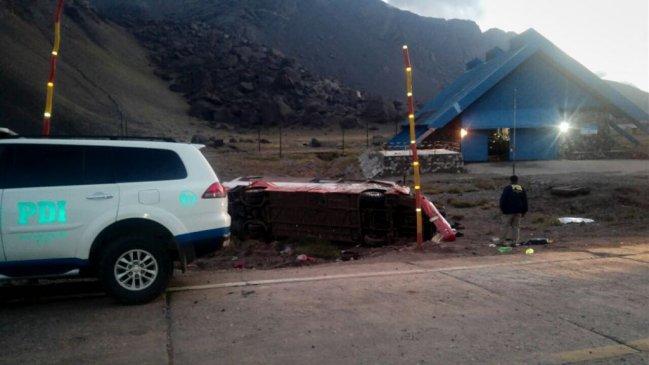 Delegación chilena sufre accidente de tránsito en Argentina: tres muertos