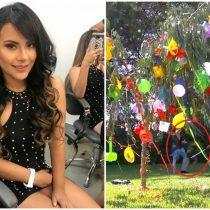 [VIDEO] Cantante peruana sufre el impacto de un hacha durante programa televisivo