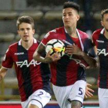 [VIDEO] Erick Pulgar es figura en Italia tras anotar gol olímpico en empate parcial del Bologna