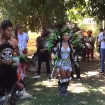 Ritos entre indígenas y migrantes en el Festival Womad Chile 2018