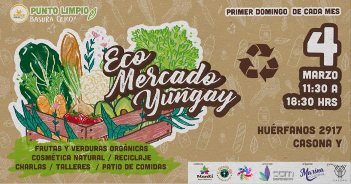 Eco Mercado Yungay: Alternativas ecológicas y orgánicas en pleno centro de Santiago