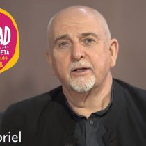 [VIDEO] Peter Gabriel envía video de apoyo a Womad Chile