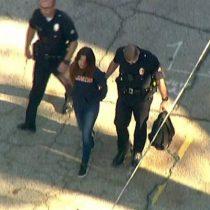 Cuatro estudiantes resultan heridos en un tiroteo en una escuela de Los Ángeles
