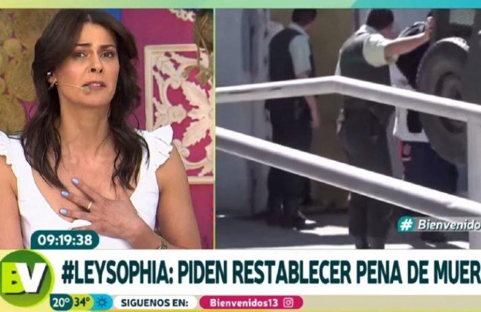"""Tonka Tomicic sobre caso Sophia: """"Si esa madre sabía lo que estaba pasando, esa mujer no puede ser más madre en su vida"""""""