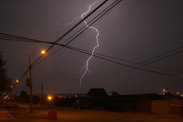 Meteorología alerta sobre probables tormentas eléctricas en zona cordillerana entre las regiones de Coquimbo y el Maule