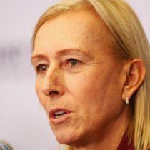 «Obtiene al menos diez veces más dinero que yo»: la denuncia de la extenista Martina Navratilova de que la BBC le pagó menos que a John McEnroe