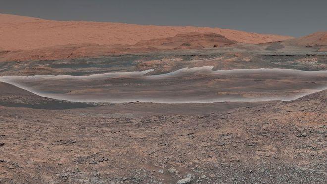 En fotos: las asombrosas observaciones del robot Curiosity de la NASA